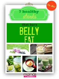 7 Healthy drinks that burn belly fat FAST with their super easy-to-follow recipes!