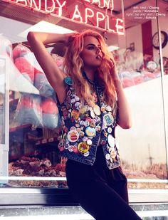 cool Urban Fashionista Editorials