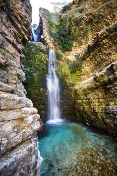 Waterfall of Peshtures -Tepelene, Albania ~Fation Plaku Photography