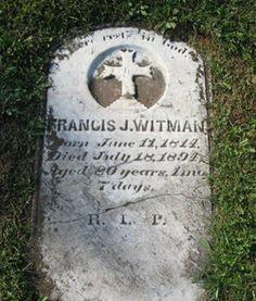 Francis J Witman