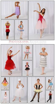 Great poses for young dancers!