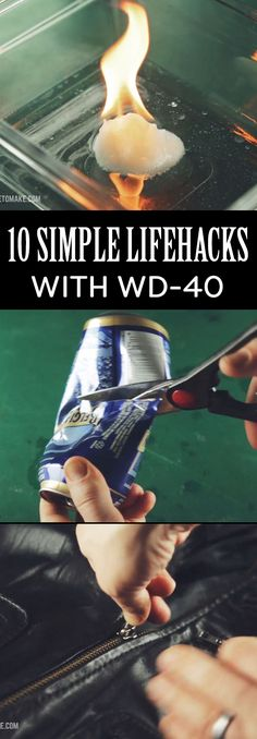 Who knew WD-40 could solve so many problems?