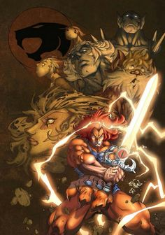 pencils by colors by love ThunderCats photoshop Cs + tablet + 5 hours. for prints contac edufrancisco or pm me EDU s ThunderCats Comic Book Characters, Comic Character, Comic Books Art, Comic Art, Gi Joe, Thundercats Movie, School Cartoon, Classic Cartoons, Insta Photo