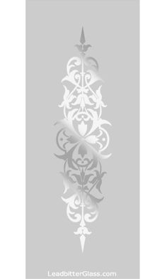 Any of our traditional etched glass patterns can be incorporated into almost any glass size. Leadbitter Glass specialises in bespoke decorative glass panels so these designs are here to help inspire you. All of our etched or sandblasted Glass Pantry Door, Glass Cabinet Doors, Etched Glass Door, Glass Etching, Faux Stained Glass, Stained Glass Windows, Frosted Glass Design, Sandblasted Glass, Victorian Design