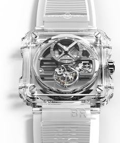 ‪Only eight pieces of the Bell & Ross BR-X1 Skeleton Tourbillon Sapphire have been produced.  Read the full release now on aBlogtoWatch.com.