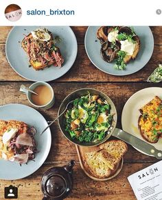 Salon Brixton Brixton, Beef, London, Breakfast, Ethnic Recipes, Drink, Food, Ideas, Meat