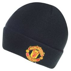 KNITTED  HAT MANCHESTER UNITED  UOMO DONNA