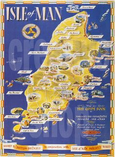 The Isle Of Man  As it is part of my heritage I want to make it there one day!