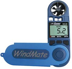 handheld anemometer/thermometer for SkyWarn storm spotting