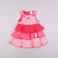 Vestido con volantes talla 24 meses http://www.quiquilo.es/catalogo-ropa-segunda-mano/vestido-sin-mangas-con-varios-volantes-color-rojo-de-la-marca-cakewalk.html