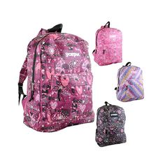 Sportpak 17' Graphic Glitter Backpack - Assorted Styles at 80% Savings off Retail! http://vnlink.co/Sj28dwi
