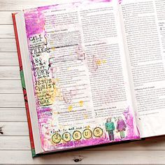 Hippie: What Does Art Worship Look Like? Journaling Bible Workflow