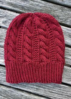 Gingerbread Hat By Angela Whisnant - Free Knitting Pattern - (ravelry) Bonnet Crochet, Crochet Beanie, Knit Or Crochet, Knitted Hats, Crochet Hats, Loom Knitting, Hand Knitting, Knitting Socks, Knitting Projects