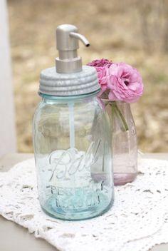 Post Road Vintage — Mason Jar Soap Dispenser - Quart or Pint
