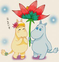 Moomin and Floren by piyo119