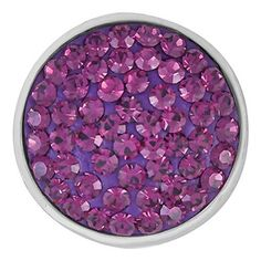 Ginger Snaps AMETHYST SUGAR SNAP SN32-04 Interchangeable Jewelry Snap Accessory by The Good Bead, http://www.amazon.com/dp/B00DXGZ70G/ref=cm_sw_r_pi_dp_ocIlsb0D4VBSV