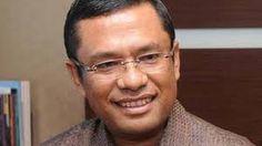 Menteri Perindustrian dalam Kabinet Kerja Joko Widodo dan Jusuf Kalla, Saleh Husin. Joko