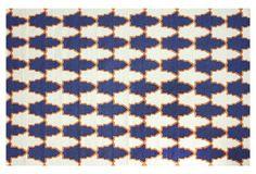 Belle Flat-Weave Rug, Navy on OneKingsLane.com