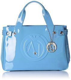 Armani Jeans  922526CC855, Sacs portés main femme - Bleu - Blau (CAPTAIN'S BLUE 09134), 22x10x32 cm (B x H x T)