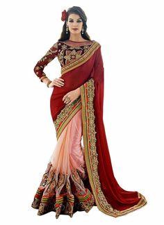 Designer Party Saree Indian Traditional Sari Ethnic Wedding Pakistani Bollywood  #KriyaCreation