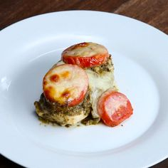 Pesto Chicken Bake Recipe by Tasty