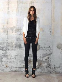 Iro Spring/Summer 2013 - Rock n roll chic in minimalist black & white