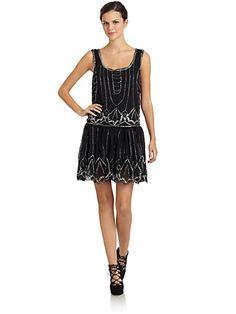 Romeo & Juliet Couture - Embellished Shift Dress - Saks.com