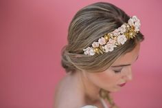 Descubra os 30 melhores penteados de noiva apanhados 2017, escolha o seu! Image: 4
