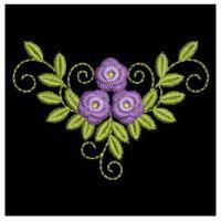 Wind Bell Embroidery - Bullion Roses - Oregon Patch Works
