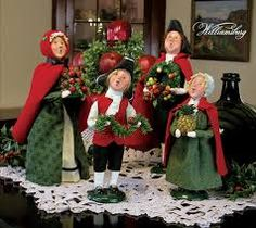 gorgeous image of decorative red and green choir christmas carolers decoration as accessories for christmas decoration design ideas of interactive images of
