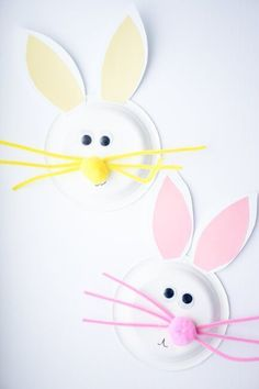 Want to celebrate Easter by making crafts? Here are 23 cute Easter Bunny Crafts that you can do with your kids. Easter bunny craft Make a cute Easter bunny craft from a paper roll. Easter Crafts For Toddlers, Easy Easter Crafts, Bunny Crafts, Easter Crafts For Kids, Crafts For Kids To Make, Toddler Crafts, Easter Ideas, Easter Games For Kids, Preschool Crafts