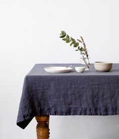 Table cloth by Linen Tales, Etsy