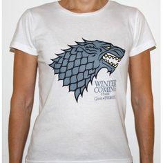 T-shirt Stark Game of Thrones - Femme
