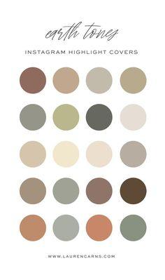 Colour Pallette, Colour Schemes, Neutral Color Scheme, Neutral Color Palettes, Earth Colour Palette, Neutral Tones, Earth Tone Colors, Earth Tones, Feeds Instagram