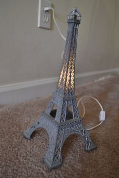 Exquisite Vintage Eiffel Tower Lamp by refunktion on Etsy, $100.00