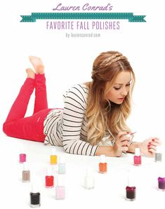 Lauren Conrad's Favorite Fall Polishes {click to see them all}