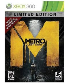 Metro Last Light Limited Edition Xbox 360 ** Check this awesome product by going to the link at the image. Note:It is Affiliate Link to Amazon.