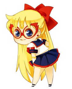 Second inner senshi. Sailor V is probably one of my most favorite characters in the series. I srsly couldn't resist. xD