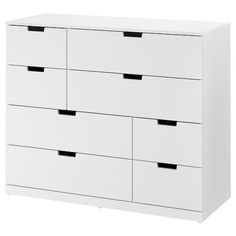 IKEA - NORDLI, dresser, anthracite, You can use one modular chest of drawers or combine several to get a storage solution that perfectly suits your space. You can easily create your own personal design by mixing chests of different colors. Small Drawers, Chest Of Drawers, Ikea Nordli, Design Ikea, 8 Drawer Dresser, Closet Dresser, Alex Drawer, Dresser Sets, Drawer Unit