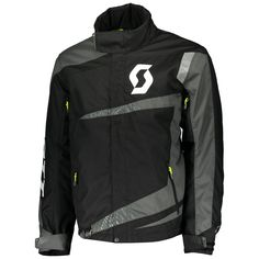 Scott TEAMR Jackets (BLK/GRY). *DRYOsphere Technology**Insulation 150g**Non Removable Lining* Insulation, Motorcycle Jacket, Snow, Technology, Jackets, Fashion, Down Jackets, Moda, Tech