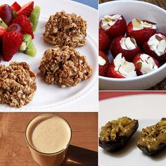 Time For Dessert! Post-Workout Snacks That Satisfy a Sweet Tooth You've spent 45 minutes working hard to define those muscles, so don't undo all your work with a stop at the vending machine. Satisfy your sweet tooth with nutritious post-workout snacks that calm sugar cravings while helping you replenish energy and rebuild muscles.