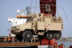 The last MRAP leaves Iraq.