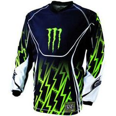 Ez egy Monster márkájú cross motorosoknak ajánlott felső.
