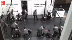 spy-cam video: The Sauber Team pit stop crew practising their pit stops. Spy Cam, F 1, Formula One, Animated Gif, Vines, Sketches, Technology, Drawings, Tech