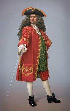 Guerra de Sucesión Española - Barcelona Rafael Casanova i Comes Pirate Cartoon, Peter Pan Costumes, 18th Century Costume, Medieval Costume, Period Outfit, Renaissance, British Army, Classic Outfits, Historical Clothing