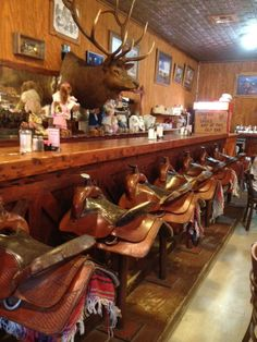 Saddle Bar at OST in Bandera, TX