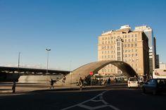 Centro de Porto Alegre - estação central do Trensurb - Av Mauá.