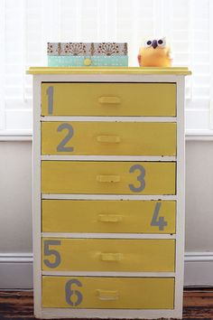 Upcycled drawers  by Emily Quinton
