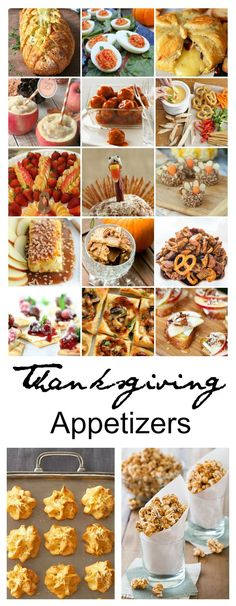 Thanksgiving | I love to have Thanksgiving Appetizers for my guests to munch on while they are waiting for the actual meal to be cooked.