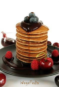 Gluten Free Recipes, Vegan Recipes, Cooking Recipes, American Pancakes, Vegan Vegetarian, Vegan Food, Good Food, Healthy Eating, Healthy Food